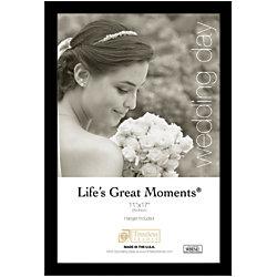 "Timeless Frames® Life's Great Moments Frame, 11"" x 17"", Black"