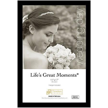 Timeless Frames Lifes Great Moments Frame 11 X 17 Black