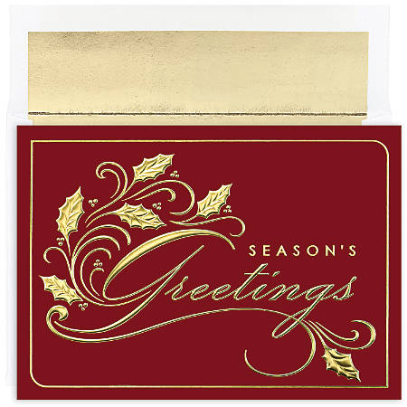 Great papers holiday greeting cards with envelopes 7 78 x 5 58 great papers holiday greeting cards with m4hsunfo