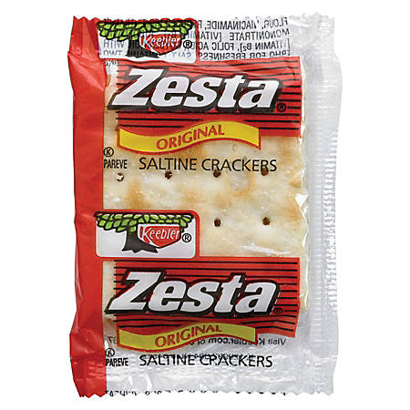 Zesta® 2-Count Packet Saltine Crackers, Pack Of 300