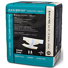 Baribrief Bariatric Disposable Briefs 65 94