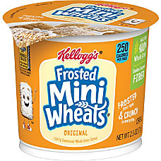 Breakfast Cereal Frosted Mini Wheats Single