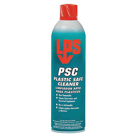 PSC Plastic Safe Cleaners, 18 oz Aerosol Can