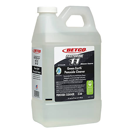 Betco® Fastdraw® Green Earth® Peroxide Cleaner, Fresh Mint Scent, 152 Oz, Pack Of 2