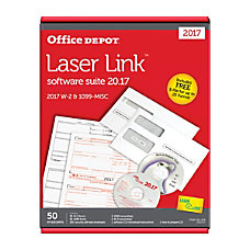 Office Depot Brand LaserLink W 2