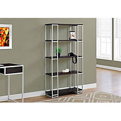 office depot shelves monarch specialties open 4 shelf metal bookcase 23910