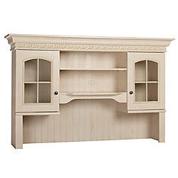 Christopher Lowell S Credenza Hutch 40 3 4 H X 64 W