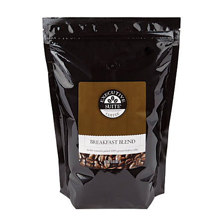 Executive Suite® Breakfast Blend Coffee, 2 lb Bag