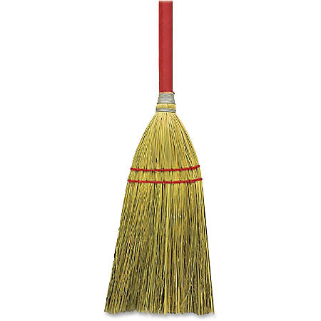 "Genuine Joe Corn Fiber Toy Broom - 24""Wood Handle - 12 / Carton"