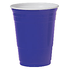 Solo Plastic Party Cups 16 Oz