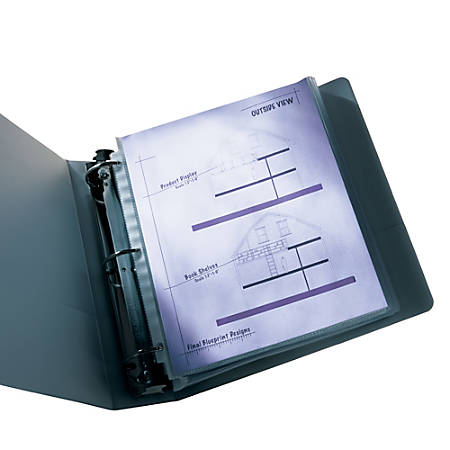 Wilson Jones® Top-Loading Sheet Protectors, Economy-Weight, Diamond Clear, Box Of 50