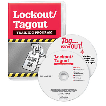 ComplyRight Lockout/Tagout DVD/CD-ROM Training Kit