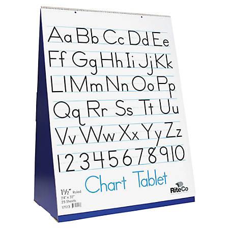Flipside Flip Chart Stand Tablet Set