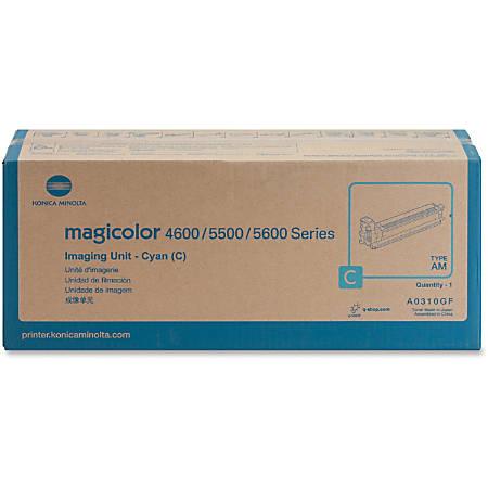 Konica Minolta 120V Cyan Imaging Unit For Magicolor 5550 and 5570 Printers - Cyan