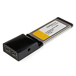 StarTechcom 2 Port ExpressCard 1394b FireWire