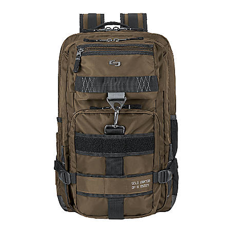 Solo Altitude Laptop Backpack, Khaki