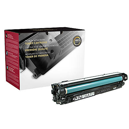 Clover Technologies Group 200623P Remanufactured Toner Cartridge Replacement For HP 651A Black