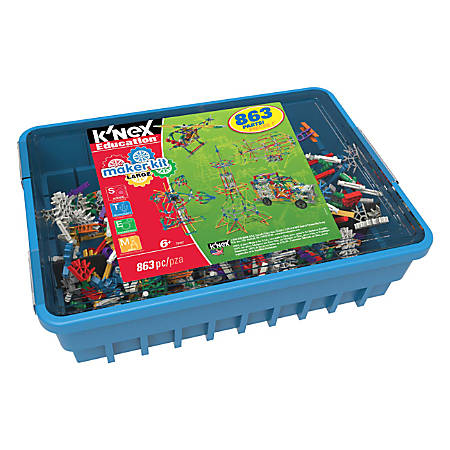 K'NEX Education® 863-Piece Large Maker Kit