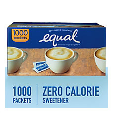 Equal Zero Calorie Original Sweetener Box