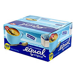 Equal Original Sweetener Box Of 1000