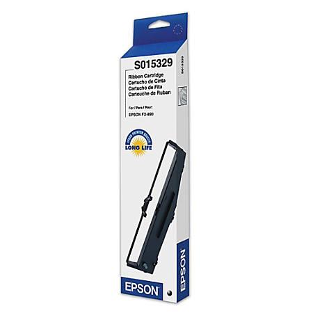 Epson® S015329 Black Fabric Printer Ribbon