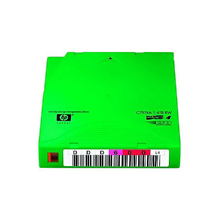 HP C7974AL LTO Ultrium 4 Custom Labeled Tape Cartridge