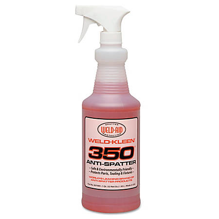 Weld-Aid Weld-Kleen® 350 Anti-Spatter Drum, 55 Gallons, Red