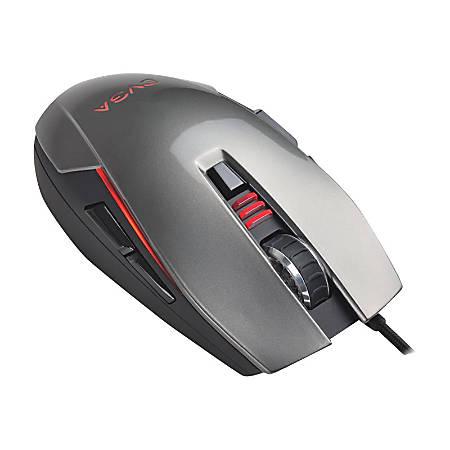 EVGA Laser Mouse, Black/Charcoal/Silver, TORQ X5L