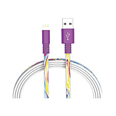 Ativa Lightning Cable 6 Purple Marble
