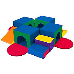 ECR4Kids SoftZone Tunnel Maze Climber 18