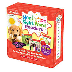 Scholastic Teacher Resources Nonfiction Sight Word