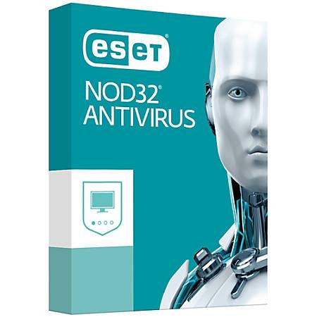 ESET NOD32 Antivirus 2017 1 User
