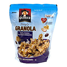 Quaker Simply Granola Oats Honey Raisins