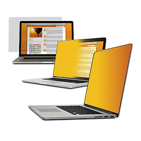 "3M™ Gold Privacy Filter Screen For 13"" Apple® MacBook® Pro® Retina Display"