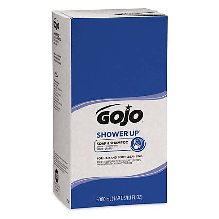GOJO® SHOWER UP Clean Scent Soap And Shampoo Refills, 16.91 Oz, Pack Of 2 Refills