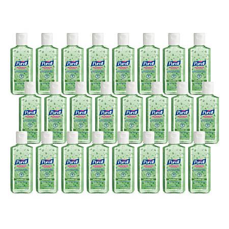 PURELL® Advanced Hand Sanitizer Soothing Gel, Fresh Scent, 4-oz. Flip-Cap Bottle, 24/Carton