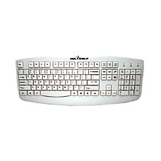 Seal Shield Silver Storm Wired Keyboard