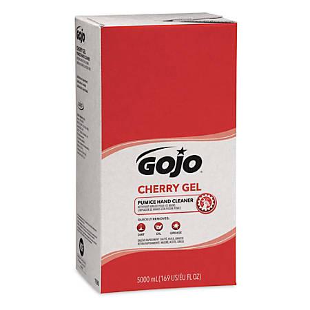 GOJO® Gel Pumice Hand Cleaner Refill, Cherry Scent, 169.07 Oz