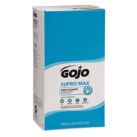 GOJO® SUPRO MAX® Hand Cleaner, Herbal Scent, 5,000 mL