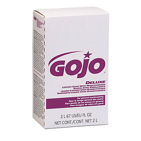 GOJO® NXT Lotion Soap Refills, Light Floral, 2 Liters, Case Of 4