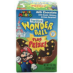 Frankford Candy Super Mario Chocolate Wonder