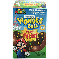 Frankford Candy Super Mario Chocolate Wonder