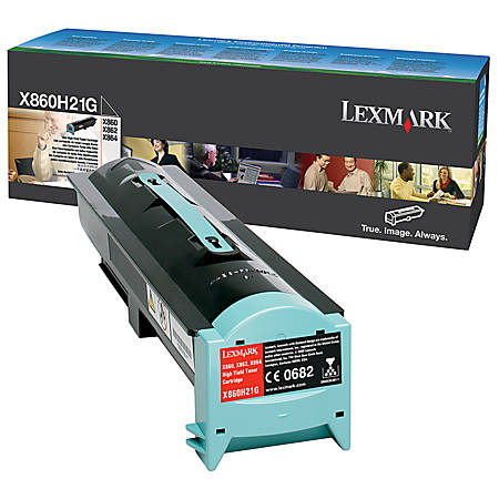Lexmark™ X860H21G High-Yield Black Toner Cartridge