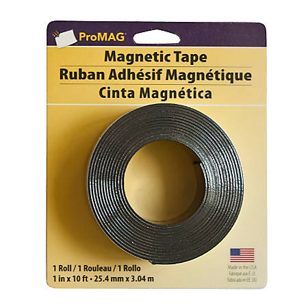 "ProMAG Heavy-Duty Magnetic Tape, 1"" x 10'"