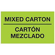Tape Logic Bilingual Labels DL1319 Mixed