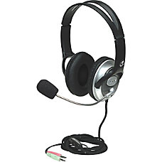 Manhattan Classic Stereo Headset with Flexible