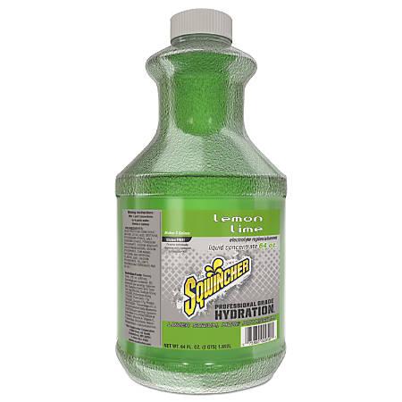 Sqwincher ZERO Liquid Concentrate, Lemon-Lime, 64 Oz, Case Of 6
