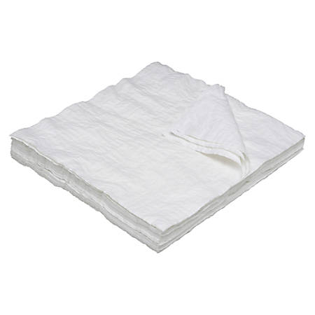 """SKILCRAFT® Total Wipes II Cleaning Towel, 13 1/2"""" x 13 1/2"""", 40% Recycled, White, Case Of 1,000 (AbilityOne 7920-00-823-9773)"""