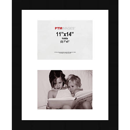 "PTM Images Photo Frame, Collage, 11""H x 14""W, Black"