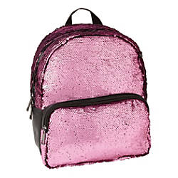 Office Depot Brand Sequined Backpack Pink